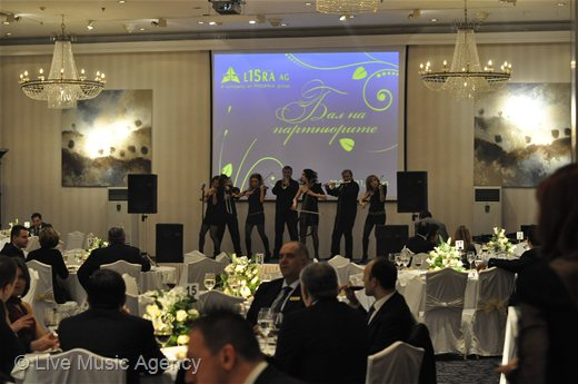 Ball of Partners Libra AG,  Gala - Dinner, Sheraton Hotel Royal Hall | photo: livemusicagency.com
