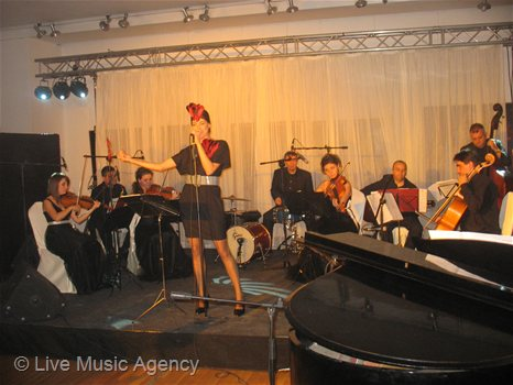 Christmas Party Grand Hotel Sofia - The Music of Hollywood | photo: livemusicagency.com