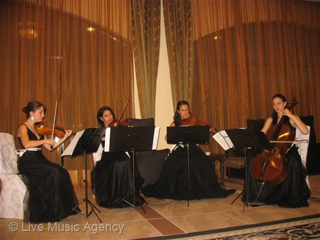 String Quartet Official cocktail Second Scientific Symposium Bulgarian Institute of Metabolic Syndrome | photo: livemusicagency.com