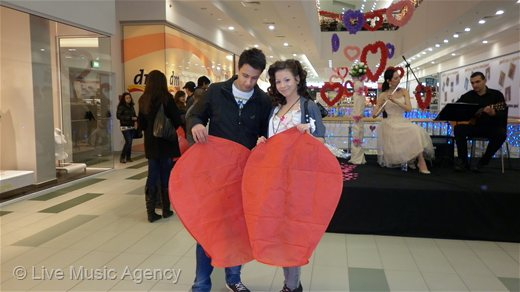 Valentine day GALERIA STARA ZAGORA | photo: livemusicagency.com
